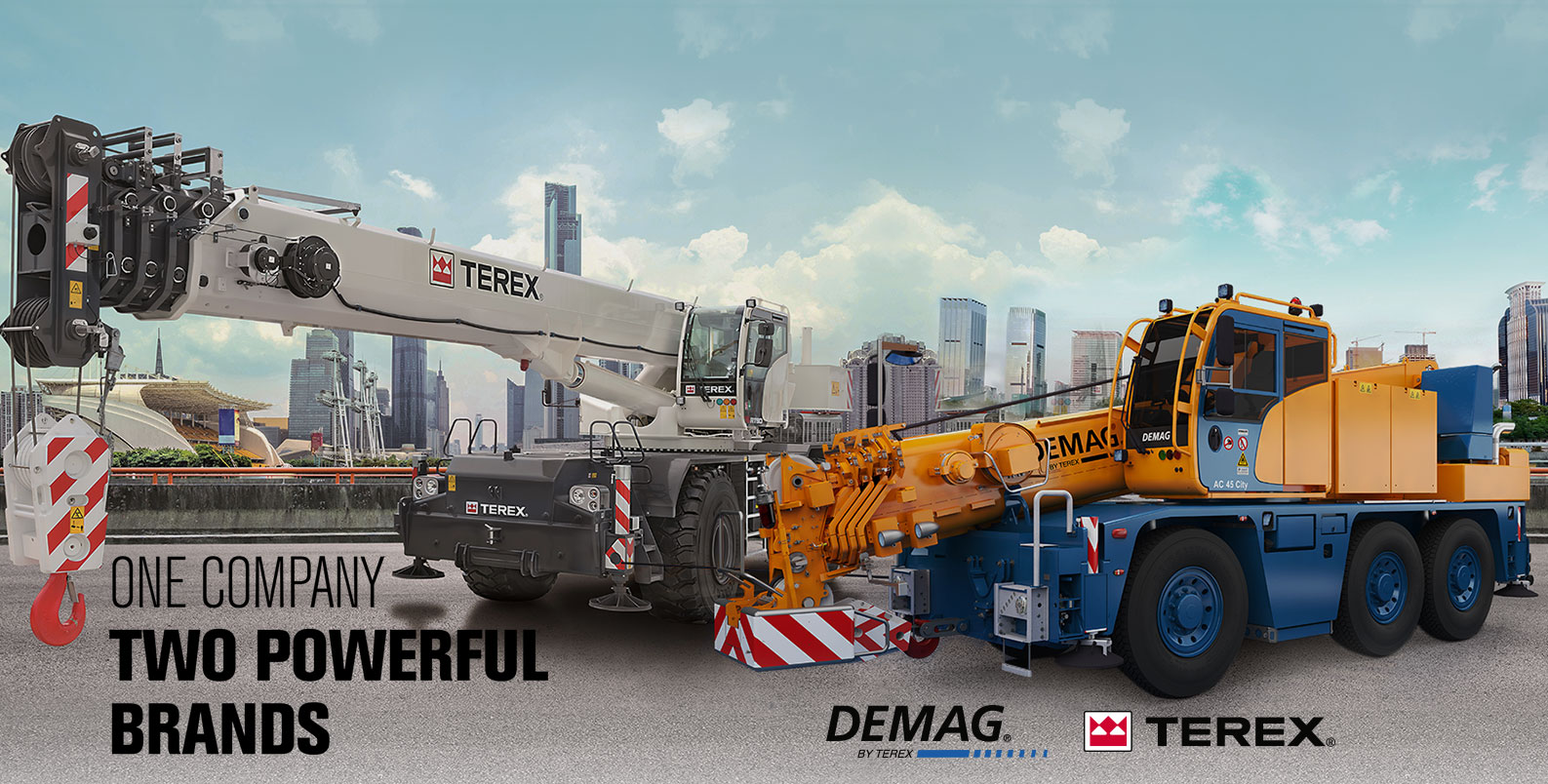 One Company Two Powerful Brands - TEREX | DEMAG
