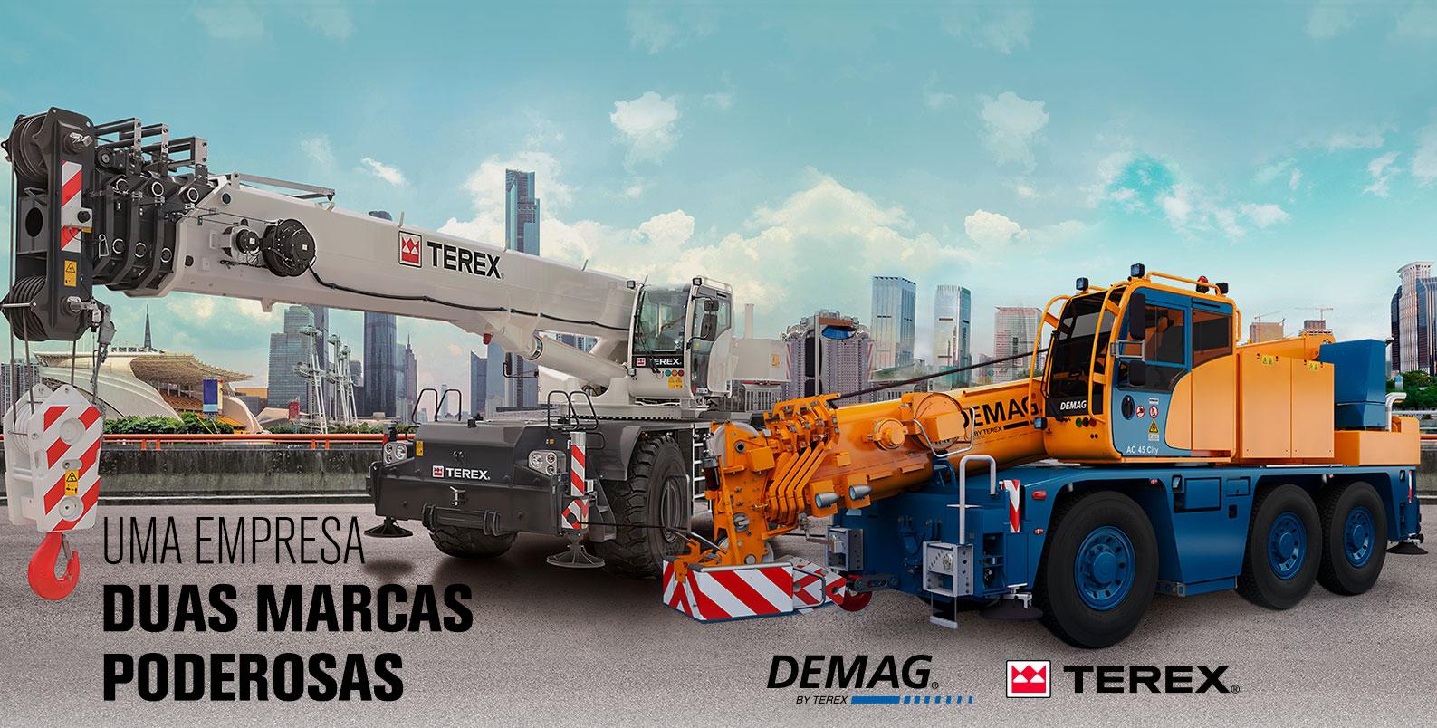 Uma Empresa Duas Marcas Poderosas - TEREX | DEMAG